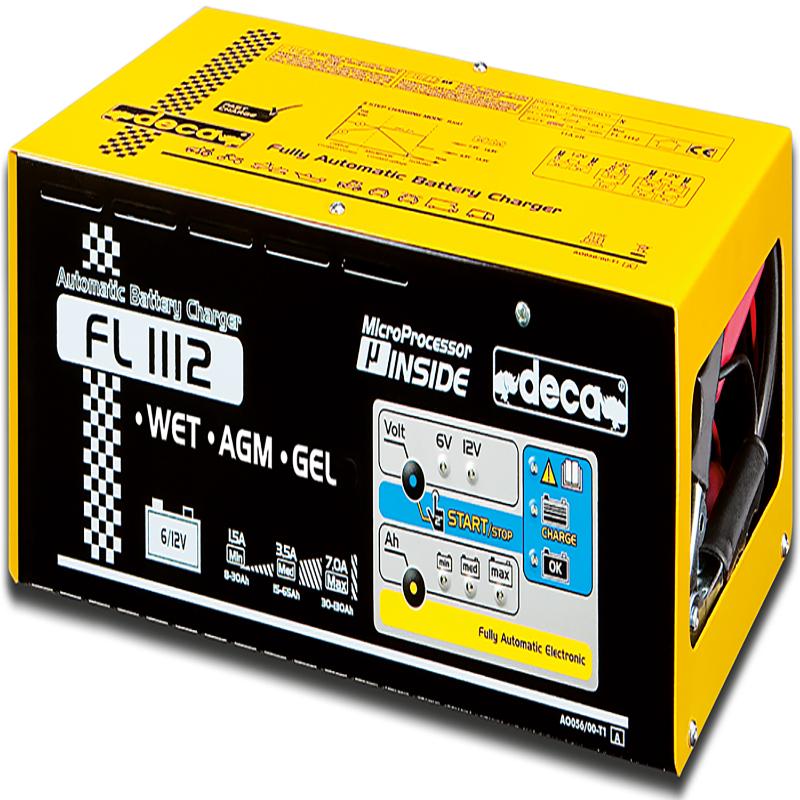 شارژر و استارتر باتری دکا FL 1112