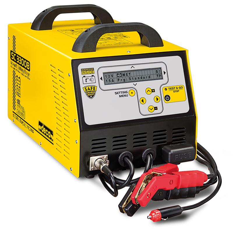 شارژر و استارتر اتوماتیک باتری خودرو Smart 3300 دکا