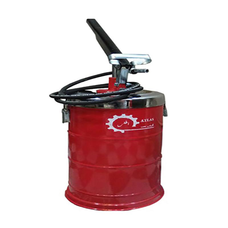 گریس پمپ سطلی 10 کیلوگرمی اطلس