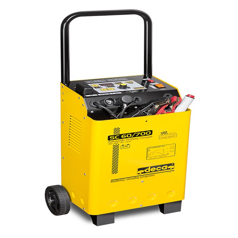 شارژر و استارتر باتری خودرو دکا ایتالیا SC60/700