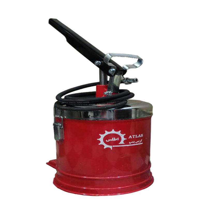 گریس پمپ سطلی 5 کیلوگرمی اطلس